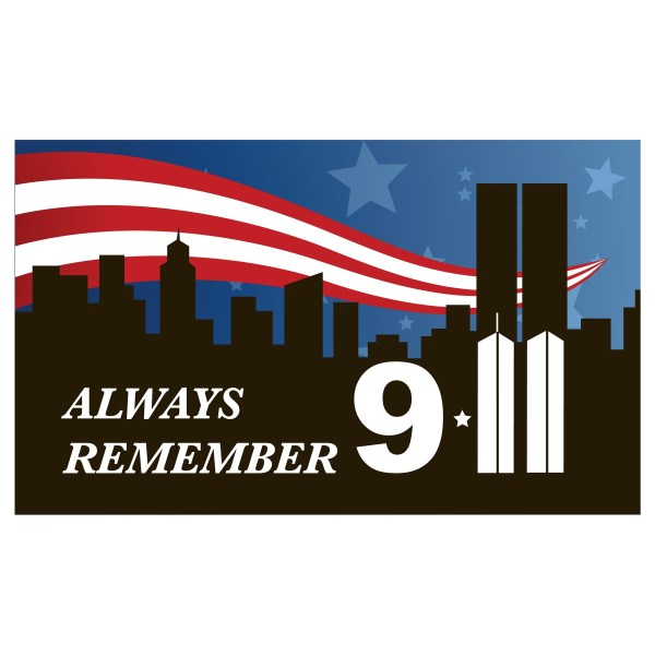 sept 11 memorial clipart