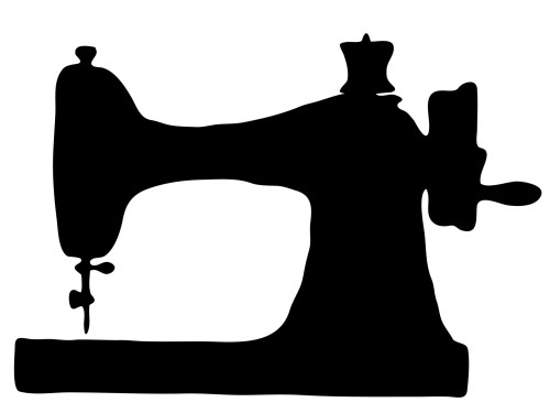 small resolution of vintage sewing machine clipart free stock photo