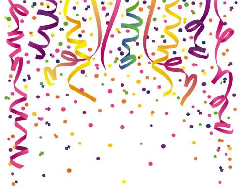 small resolution of party decorations clipart