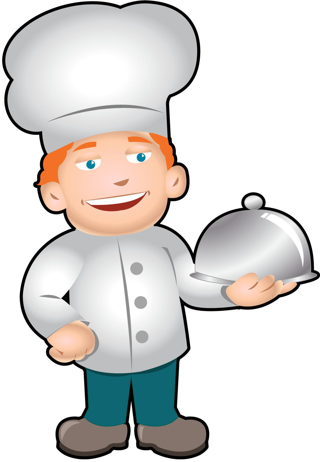 hight resolution of clip art of chef