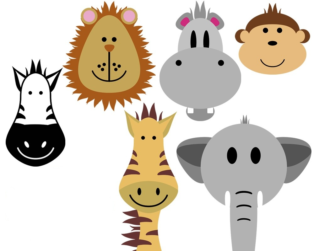 hight resolution of free safari animal clipart