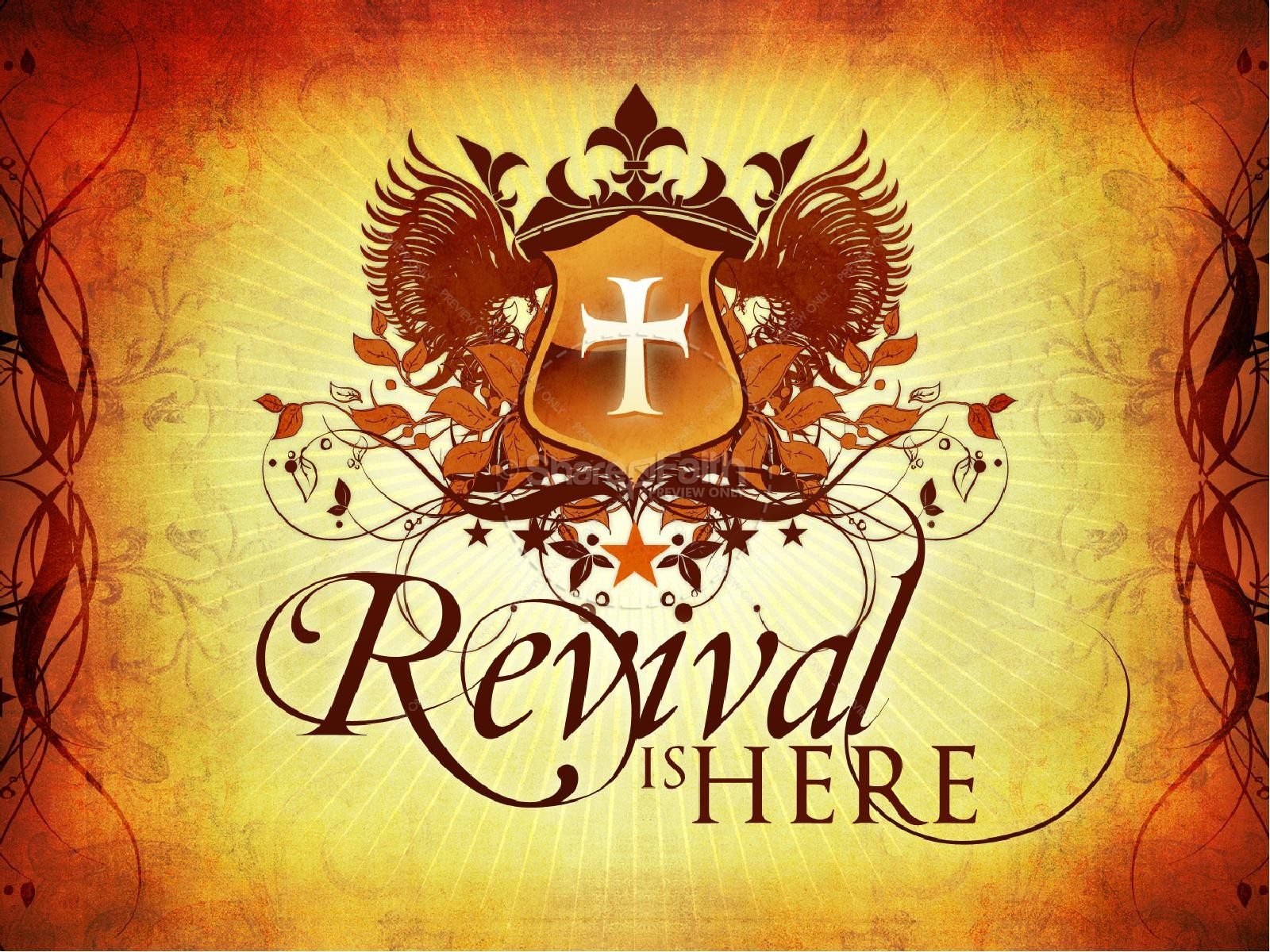 hight resolution of revival powerpoint graphics