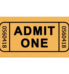 movie ticket clip art free [ 1280 x 1024 Pixel ]
