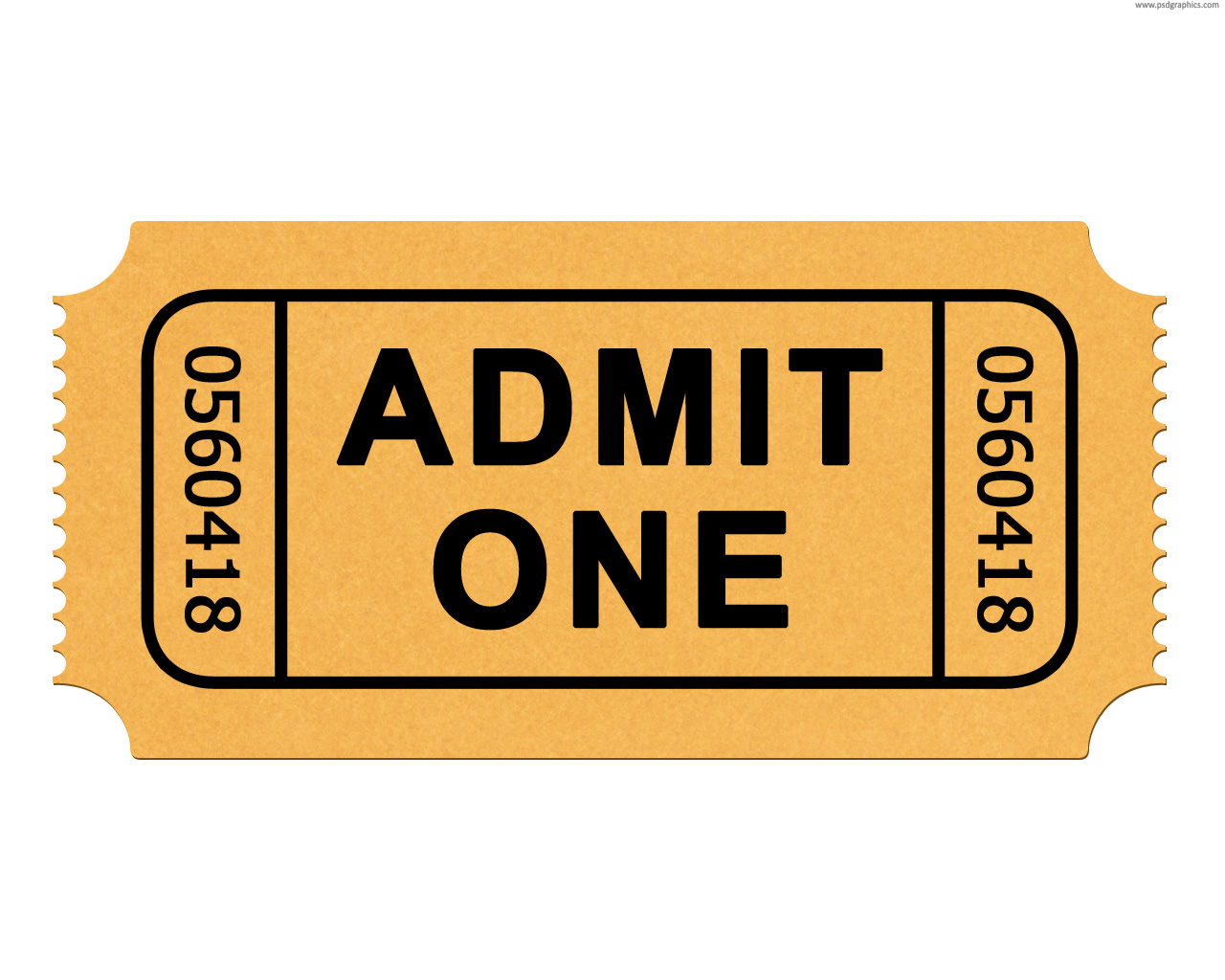 hight resolution of movie ticket clip art free