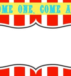 circus ticket clipart [ 1600 x 1043 Pixel ]