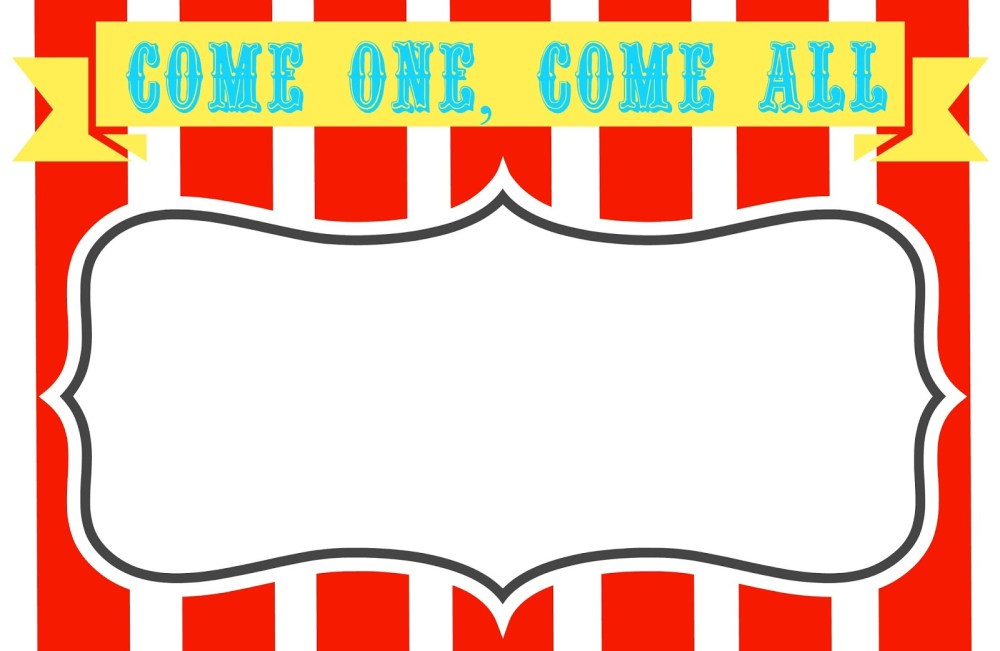 medium resolution of circus ticket clipart