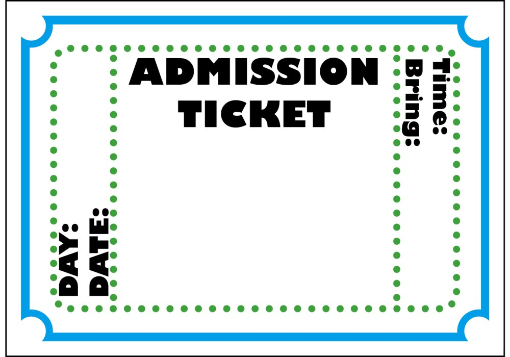 medium resolution of ticket cliparts