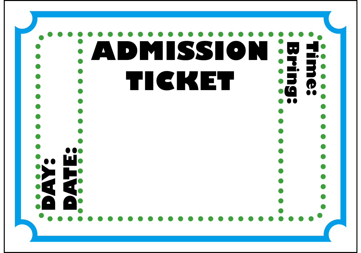 hight resolution of ticket cliparts