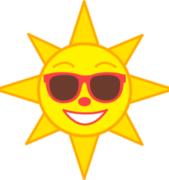 free sun clipart sun clip art image and graphics [ 5590 x 5601 Pixel ]