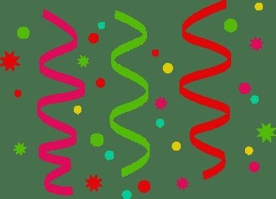 free confetti cliparts