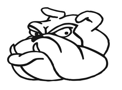 small resolution of bulldog clipart