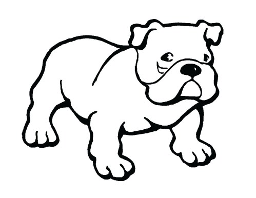 small resolution of bulldog clipart free clipart image 2