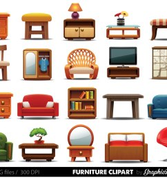 furniture clipart to scale [ 1500 x 1208 Pixel ]