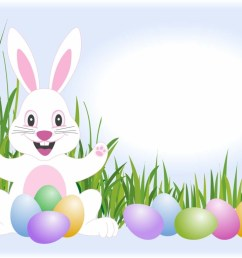 free easter bunny clip art clipart image [ 1024 x 768 Pixel ]