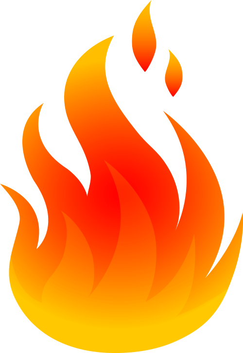 small resolution of fire flames clipart free clipart image