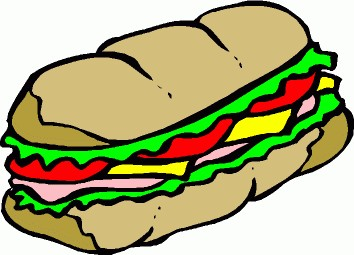free sandwich cliparts