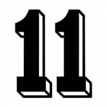 number eleven clipart - clip art
