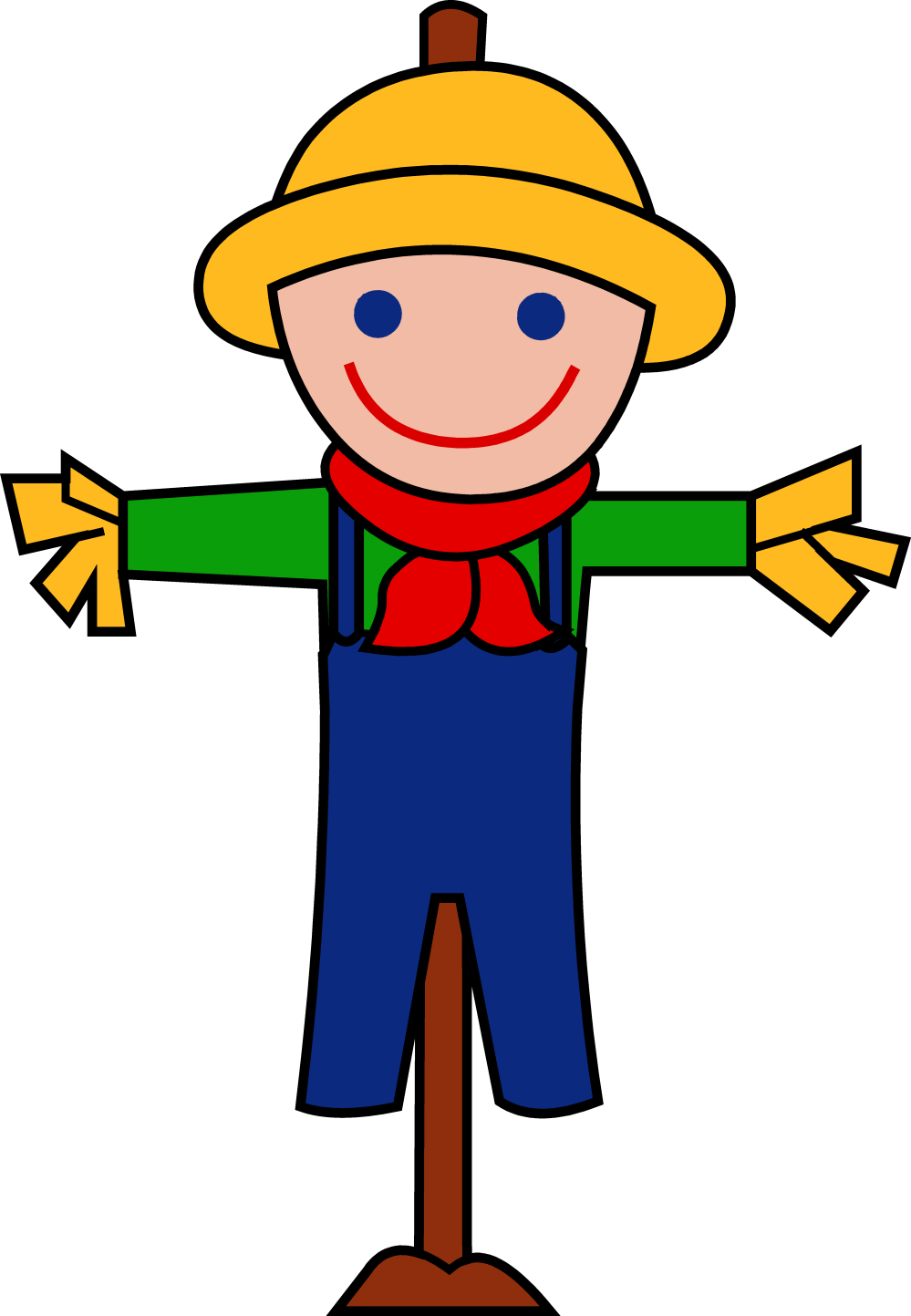 medium resolution of scarecrow clipart free