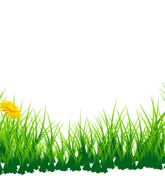 grass clip art free [ 3188 x 1120 Pixel ]