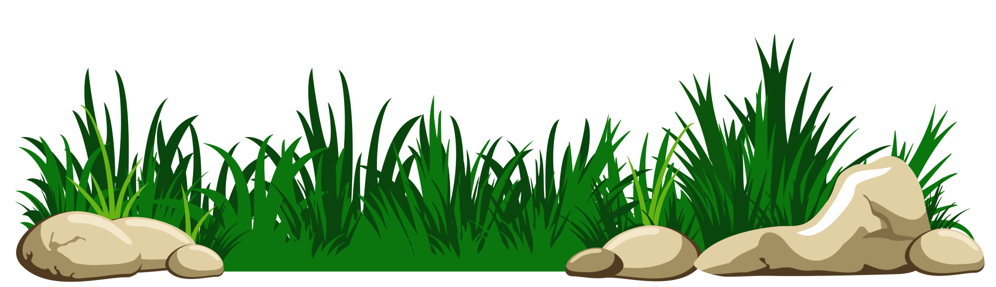 hight resolution of grass with rocks transparent png clipart