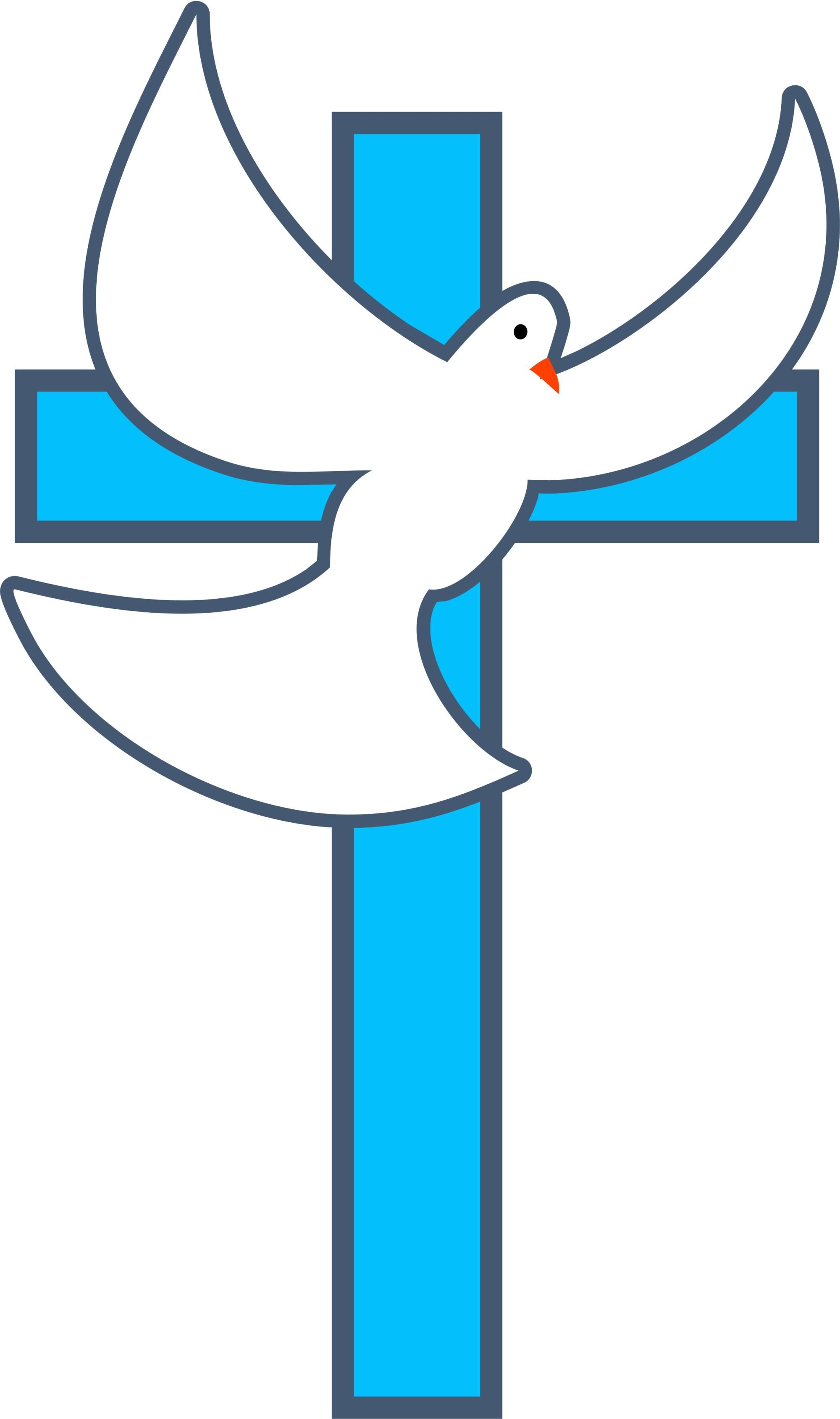 hight resolution of baptism cross clip art