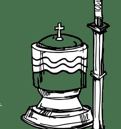 baptism cross clip art [ 1031 x 1515 Pixel ]