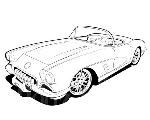 Free Corvette Cliparts, Download Free Clip Art, Free Clip