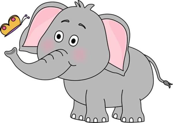 free elephant cliparts