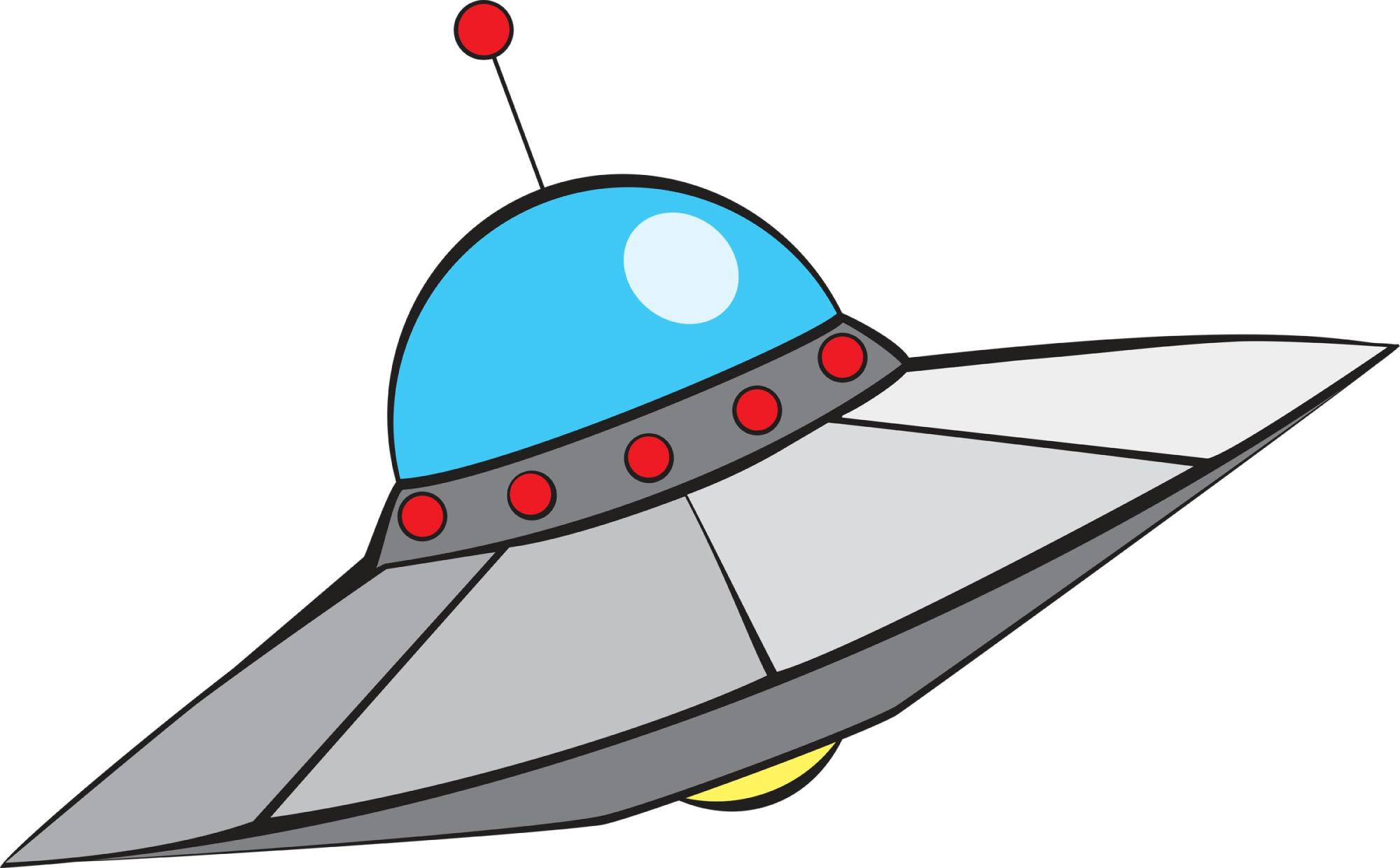 hight resolution of space ship clipart