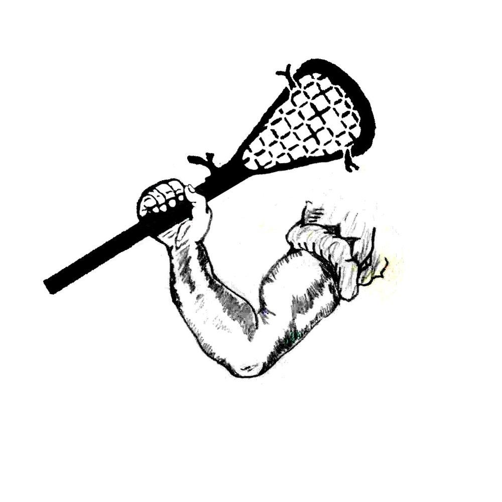 medium resolution of lacrosse stick clip art