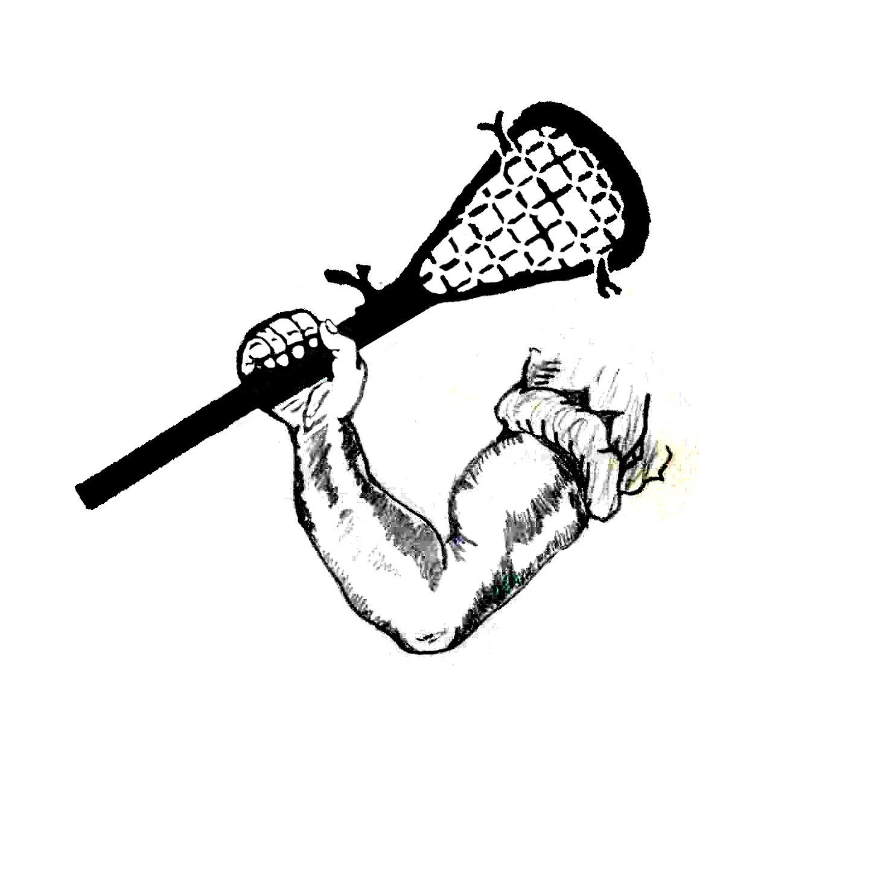 hight resolution of lacrosse stick clip art
