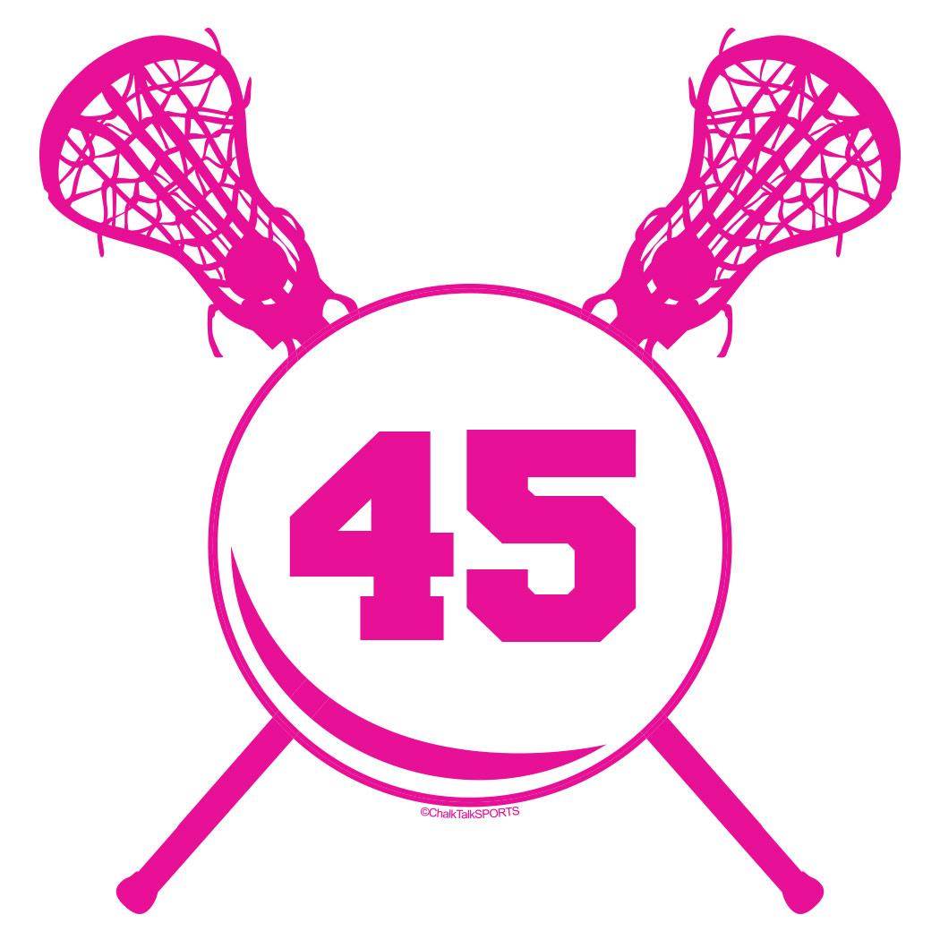 hight resolution of cartoon lacrosse sticks