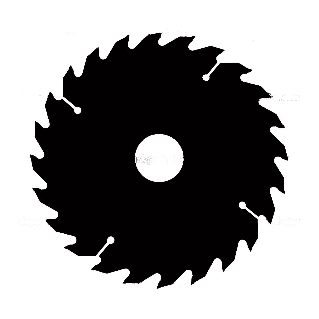 hight resolution of saw blade vector image pictures