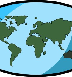 free world map clip art clipart image [ 1198 x 673 Pixel ]