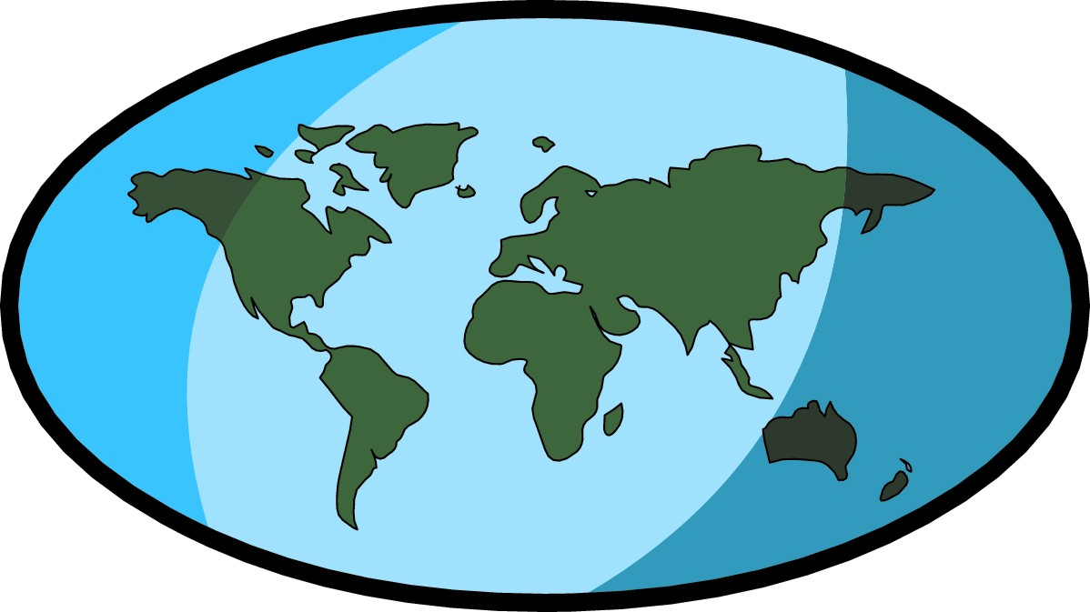 hight resolution of free world map clip art clipart image
