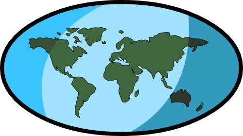small resolution of free world map clip art clipart image