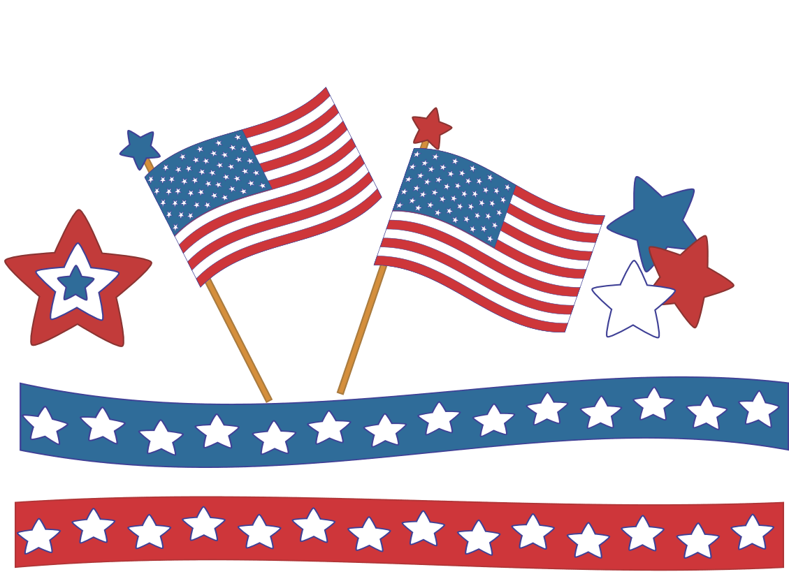 hight resolution of free 4th of july clipart independence day graphics 3