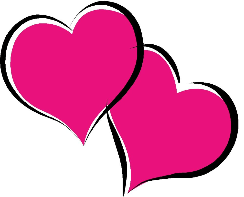 medium resolution of wedding heart clipart