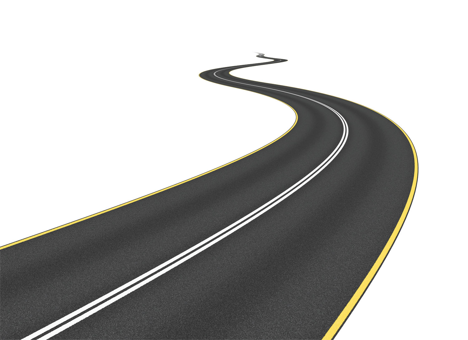 hight resolution of long curvy road clipart