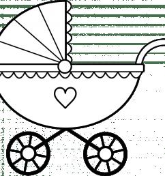 clip art black and white crib clipart [ 940 x 869 Pixel ]