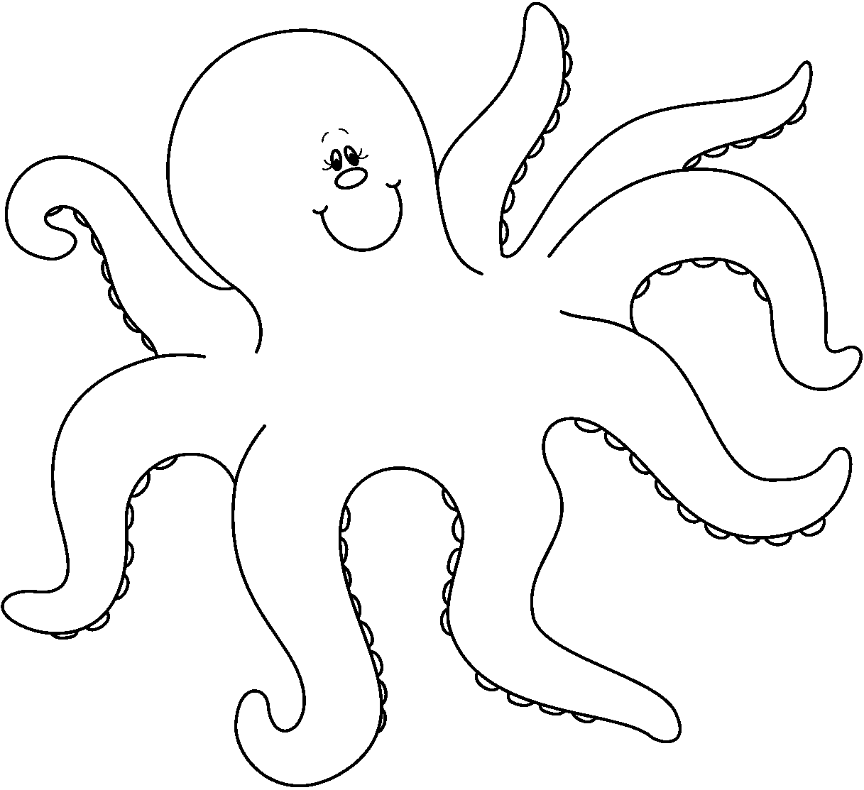 hight resolution of octopus clipart free clipart image 6