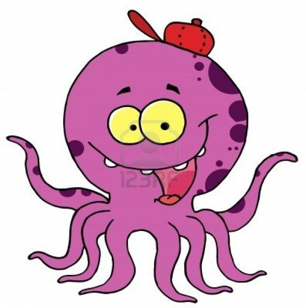 free octopus cliparts