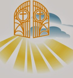 heaven pearly gates s clipart [ 1600 x 1315 Pixel ]