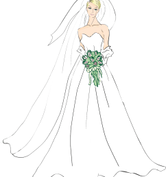 bridal good wedding bride clipart photos image [ 1054 x 1194 Pixel ]