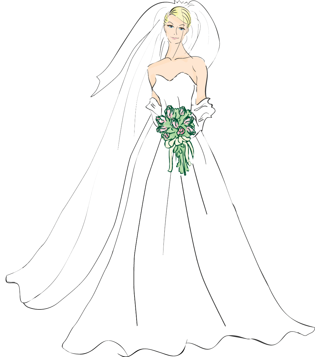 hight resolution of bridal good wedding bride clipart photos image