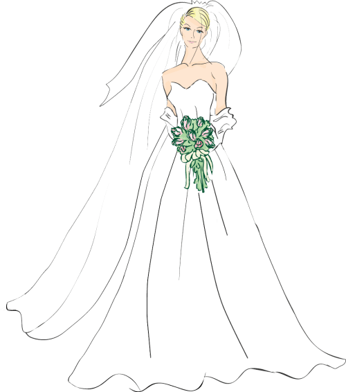 small resolution of bridal good wedding bride clipart photos image