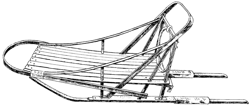 medium resolution of sled cliparts