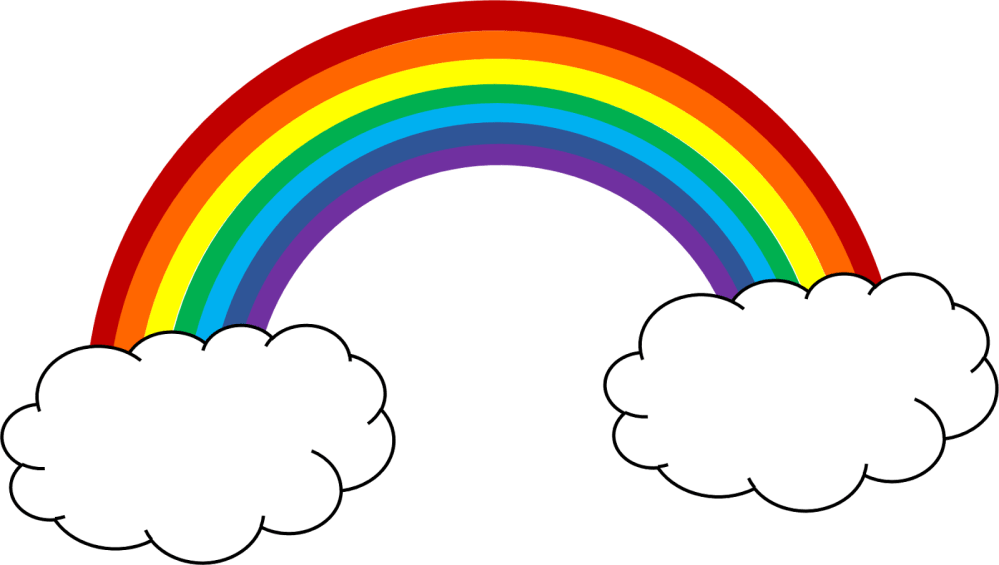 medium resolution of free rainbow clip art pictures