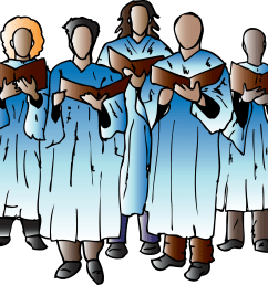 church choir clip art [ 2400 x 2140 Pixel ]