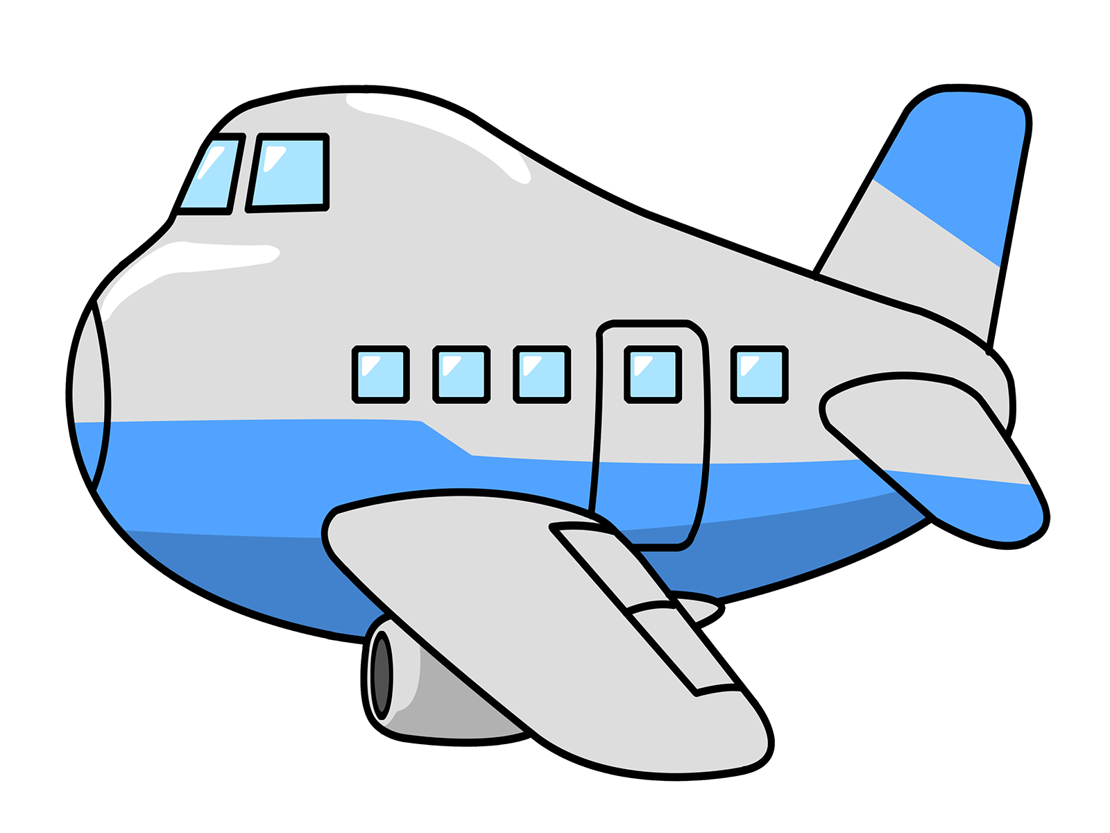 hight resolution of free airplane clip art pictures